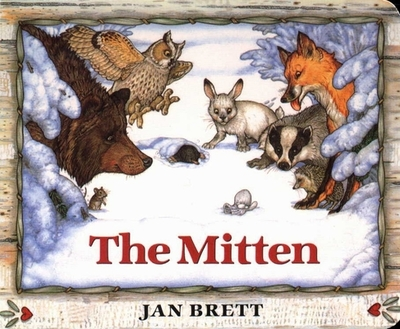 The Mitten: A Ukrainian Folktale - Brett, Jan