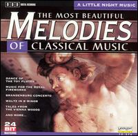 The Most Beautiful Melodies of Classical Music: A Little Night Music - Andrea Vigh (harp); Budapest Strings; Deborah Sipkai (harp); Eszter Horgas (flute); Evelyne Dubourg (piano);...