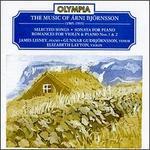 The Music Of Árni Björnsson - Elizabeth Layton (violin); Gunnar Gudbjornsson (tenor); James Lisney (piano)