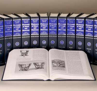 The New Grove Dictionary of Music and Musicians: 29-Volume Set - Sadie, Stanley (Editor), and Tyrrell, John (Editor)