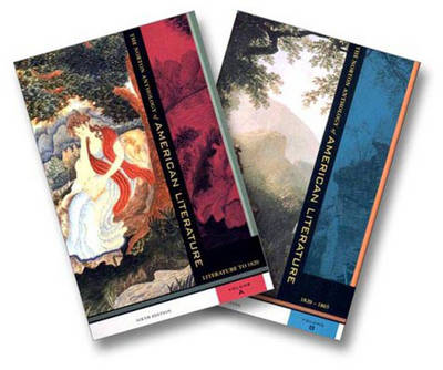The Norton Anthology of American Literature: Volumes A & B - Tanka, Judith