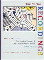 The Norton Scores & The Enjoyment of Music, Vol. 1: Gregorian Chant to Beethoven