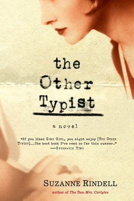 The Other Typist - Rindell, Suzanne