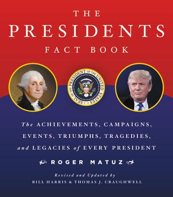 The Presidents Fact Book: The Achievements, Campaigns, Events, Triumphs, and Legacies of Every President - Matuz, Roger, and Harris, Bill (Editor), and Craughwell, Thomas J (Revised by)
