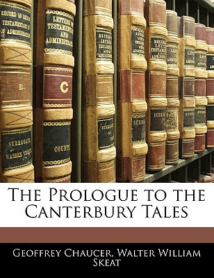 "The prologue to the ""Canterbury tales"" - Chaucer, Geoffrey"