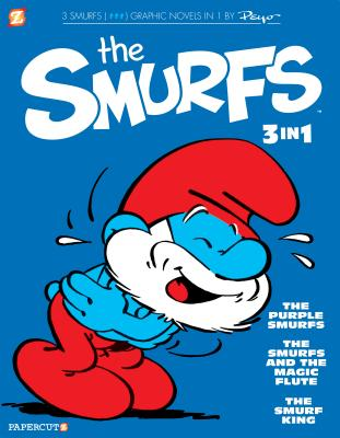 The Smurfs 3-In-1 #1: The Purple Smurfs, the Smurfs and the Magic Flute, and the Smurf King - Peyo