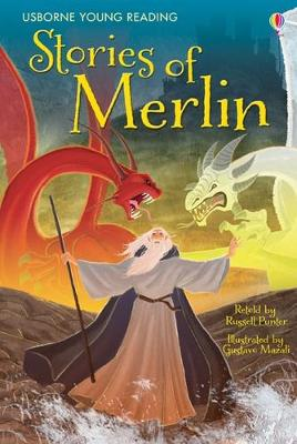 The Stories of Merlin - Punter, Russell (Retold by), and Mazali, Gustavo (Illustrator)