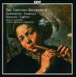 The Virtuoso Recorder 2: Sammartini, Fiorenza, Mancini, Tartini