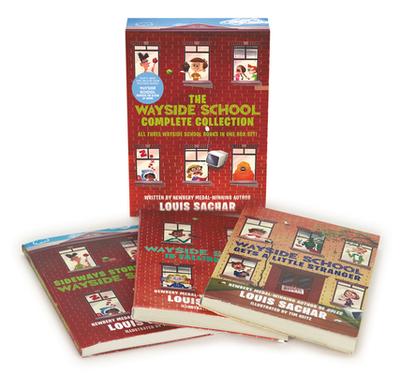 The Wayside School Collection Box Set: Sideays Stories from Wayside School, Wayside School Is Falling Down, Wayside School Gets a Little Stranger - Sachar, Louis