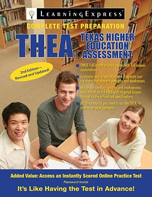 THEA: Texas Higher Education Assessment - Learning Express LLC (Creator)