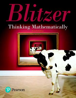 Thinking mathematically book by robert blitzer 14 available thinking mathematically blitzer robert f fandeluxe Choice Image