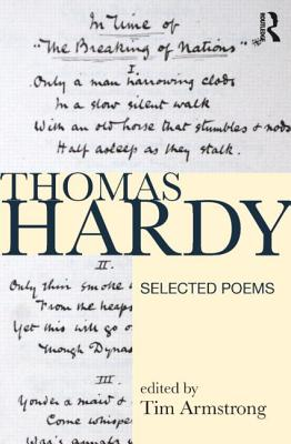 Thomas Hardy: Selected Poems - Armstrong, Tim
