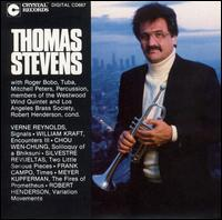 Thomas Stevens, Trumpet - David Atkins (clarinet); Gretel Shanley (piccolo); Members of the Los Angeles Brass Society; Mitchell Peters (percussion);...