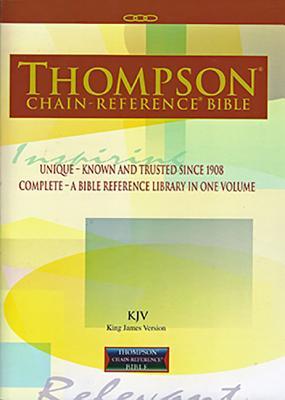 Thompson Chain-Reference Bible-KJV - Kirkbride Bible Company (Creator)