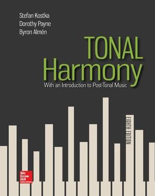 Tonal harmony book by stefan kostka 10 available editions tonal harmony kostka stefan and payne dorothy and almen byron fandeluxe Choice Image