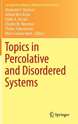 Topics in Percolative and Disordered Systems - Ramirez, Alejandro (Editor), and Ben Arous, Gerard (Editor), and Ferrari, Pablo (Editor)
