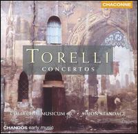 Torelli: Concertos - Catherine Weiss (violin); Collegium Musicum; Crispian Steele-Perkins (trumpet); David Blackadder (trumpet);...
