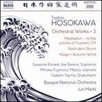 Toshio Hosokawa: Orchestral Works, Vol. 3