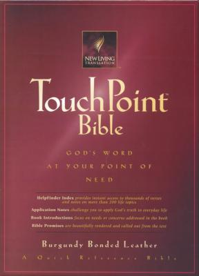 Touchpoint New Living Translation Bonded Leather Burgundy Indexed - Tyndale House Publishers (Creator)