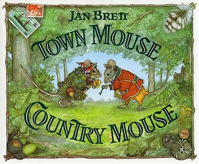 Town Mouse Country Mouse - Brett, Jan