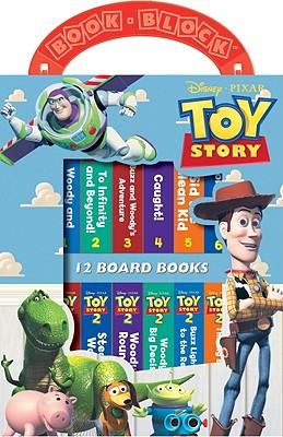 Toy Story Book Block - Burroughs, Caleb