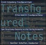 Transfigured Notes - Alexander Romanul (violin); Andrés Díaz (cello); Anne Black (viola); Barbara Englesberg (violin); Beth Abbate (violin);...