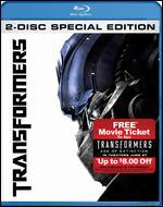 Transformers [2 Discs] [Blu-ray/DVD] [Movie Money]