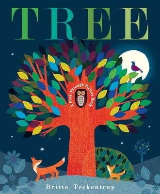 Tree: A Peek-Through Picture Book - Teckentrup, Britta
