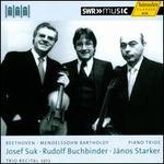 Trio Recital 1973: Beethoven, Mendelssohn Bartholdy