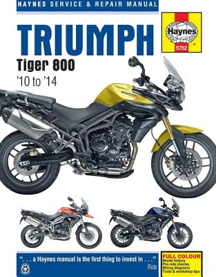 Triumph Tiger 800 Service and Repair Manual: 2010 - 2014 - Coombs, Matthew