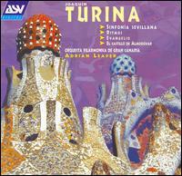 Turina: SINFONIA SEVILLANA / RITMOS / EVANGELIO - Catrin Mair Williams (harp); Orquesta Filarmónica de Gran Canaria; Adrian Leaper (conductor)