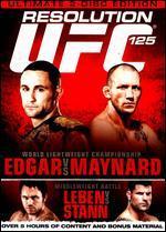 UFC 125: Edgar vs. Maynard