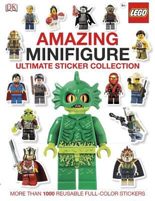 Ultimate Sticker Collection: Amazing Lego Minifigure -