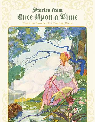 Umberto Brunelleschi Stories from Once Upon a Time Coloring Book Cb172 -