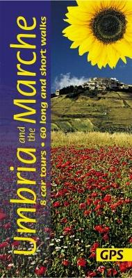 Umbria and the Marche: 8 Car Tours, 60 Long and Short Walks - Henke, Georg