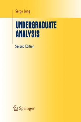 Undergraduate Analysis - Lang, Serge