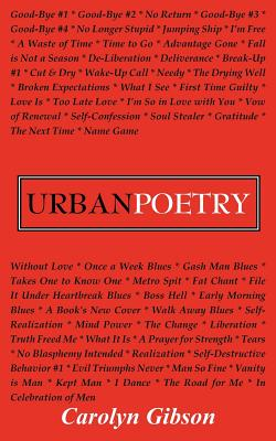 Urban Poetry - Gibson, Carolyn