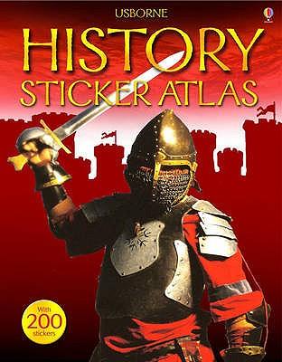 Usborne Sticker Atlas: World History - Dalby, Elizabeth