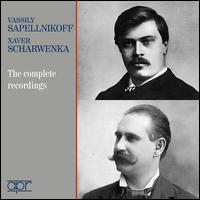 Vassily Sapellnikoff, Xaver Scharwenka: The Complete Recordings - Franz Xaver Scharwenka (piano); Vassily Sapellnikoff (piano); Aeolian Orchestra; Stanley Chapple (conductor)