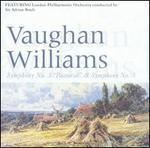 "Vaughan Williams: Symphonies Nos. 3 ""Pastoral"" & 5"