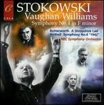 "Vaughan Williams: Symphony No. 4; Butterworth: A Shropshire Lad; Antheil: Symphony No. 4 ""1942"""