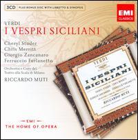 Verdi: I Vespri Siciliani - Cheryl Studer (vocals); Chris Merritt (vocals); Enzo Capuano (vocals); Ernesto Gavazzi (vocals);...