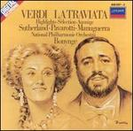 Verdi: La Traviata (Highlights) - Alexander Oliver (vocals); Della Jones (vocals); Giorgio Tadeo (vocals); Joan Sutherland (vocals); John Tomlinson (vocals); Jonathan Summers (vocals); Luciano Pavarotti (vocals); Marjon Lambriks (vocals); Matteo Manuguerra (vocals)