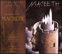 Verdi: Macbeth - Carlo Cossutta (vocals); Christa Ludwig (vocals); Ewald Aichberger (vocals); Gilels Flossman (vocals);...
