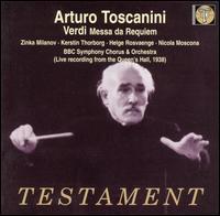 Verdi: Messa da Requiem - Helge Rosvaenge (tenor); Kerstin Thorborg (mezzo-soprano); Nicola Moscona (bass); Zinka Milanov (soprano);...