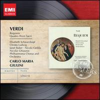 Verdi: Requiem; Quattro Pezzi Sacri - Christa Ludwig (mezzo-soprano); Elisabeth Schwarzkopf (soprano); Janet Baker (mezzo-soprano); Nicolai Gedda (tenor);...