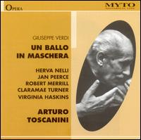 Verdi: Un Ballo in Maschera - Claramae Turner (vocals); George Cehanovsky (vocals); Jan Peerce (vocals); John Carmen Rossi (vocals);...