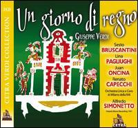 Verdi: Un Giorno di Regno - Juan Oncina (vocals); Laura Cozzi (vocals); Lina Pagliughi (vocals); Mario Carlin (vocals); Ottavio Plenizio (vocals);...