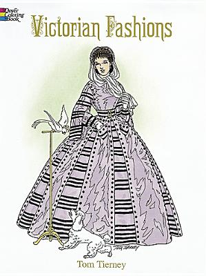 Victorian Fashions Coloring Book - Tierney, Tom