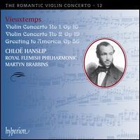 Vieuxtemps: Violin Concertos Nos. 1 & 2; Greeting to America - Chlo� Hanslip (violin); Royal Flemish Philharmonic; Martyn Brabbins (conductor)